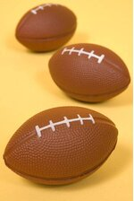 "3.5"" FOOT BALL BROWN PKG/12"