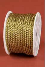 2MM X 20YDS METALLIC CORD GOLD