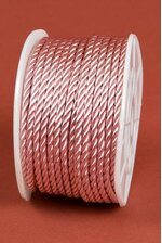 2MM X 20YDS SATIN CORD LIGHT PINK