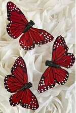 3'' BUTTERFLY RED PKG/12
