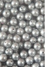 14MM ABS PEARL BEADS SILVER PKG(500g)