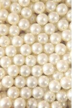 14MM ABS PEARL BEADS IVORY PKG(500g)
