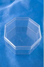 "4"" OCTAGON BOX CLEAR PKG/12"