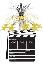 "15"" MOVIE SET CENTERPIECE CLAPBOARD"