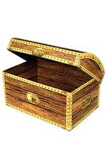 """11.75"""" TREASURE CHEST BOX"""