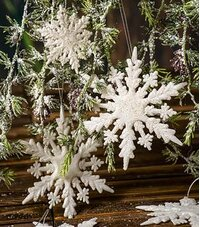 Snowflakes & Icicles Ornaments