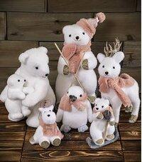 Christmas Bears and Stuffed Animals