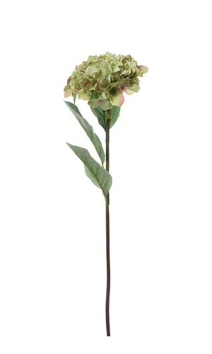 "30"" SILK HYDRANGEA SPRAY GREEN"