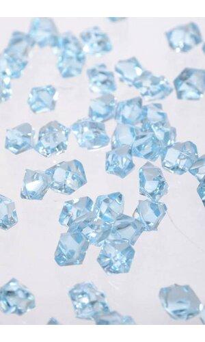 SMALL ACRYLIC CUBE LIGHT BLUE PKG/1LB