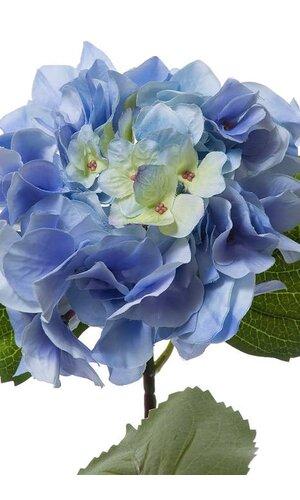 "23""SILK  HYDRANGEA SPRAY BLUE"