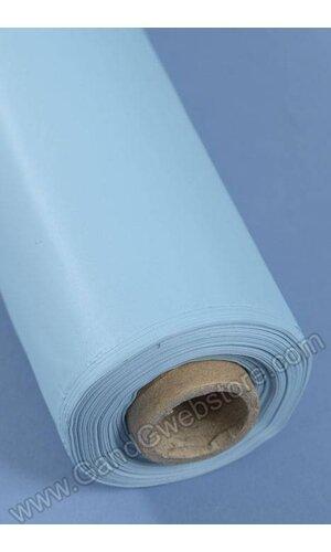 RECTANGULAR/ROUND PLASTIC TABLE COVER LIGHT BLUE