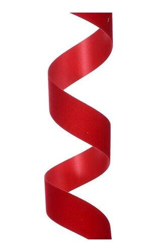"1.25"" X 25YDS VELITA RIBBON HOLIDAY RED"