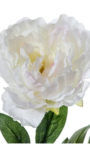 "29"" SILK PEONY SPRAY CREAM"