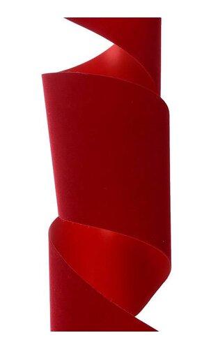 "4"" X 25YDS VELITA RIBBON HOLIDAY RED"