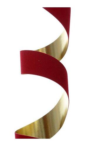 MET. VELVET-PRUF #9 25 YDS HOLIDAY RED