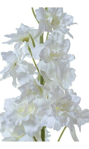 "40"" SILK DELPHINIUM SPRAY CREAM"