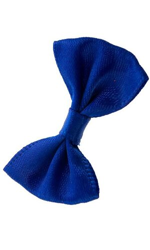 "1.25"" RIBBON BOW (PKG/12) ROYAL BLUE"