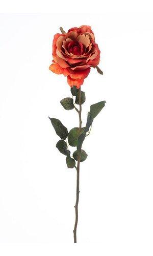 "28"" MARGARET ROSE SPRAY ORANGE"