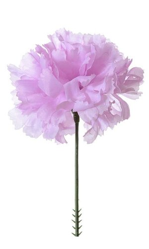 "7"" SILK CARNATION PICK VIOLET PKG/100"