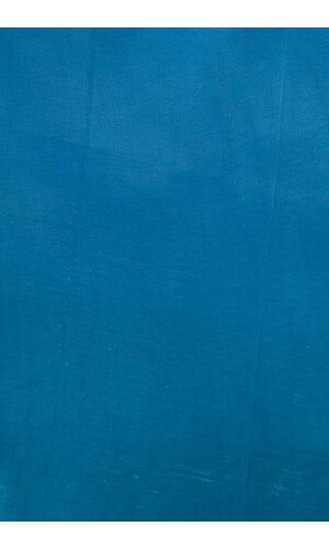 """80"""" X 80"""" SQUARE ORGANZA TABLE COVER W/RUFFLE EDGE TURQUOISE"""