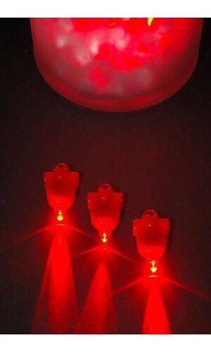 SUBMERSIBLE LED LIGHT RED PKG/12