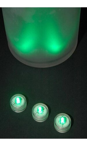 SUBMERSIBLE LIGHT GREEN PKG/10