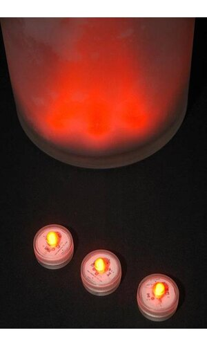 SUBMERSIBLE LIGHT ORANGE PKG/10