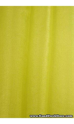 60'' X 15YDS SHIMMER ORGANZA FABRIC APPLE GREEN