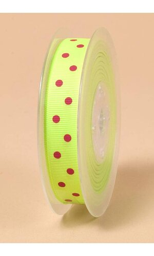 "5/8"" X 17YDS GROSGRAIN KEY LIME#544"