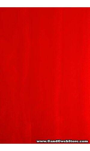 60'' X 15YDS SHIMMER ORGANZA FABRIC RED