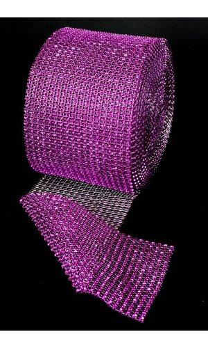 """4.5"""" X 10YDS DIAMOND WRAP PURPLE"""