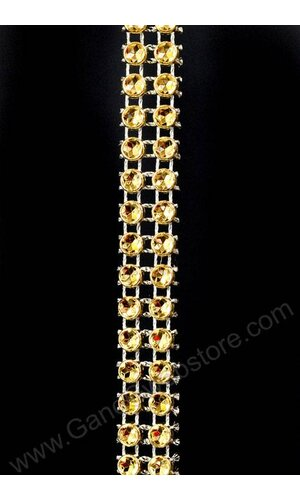 "1/2"" X 5YDS DIAMOND WRAP GOLD"