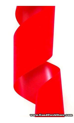 "VEL-PRUF 4"" X 25YDS MEDIUM RED EA"