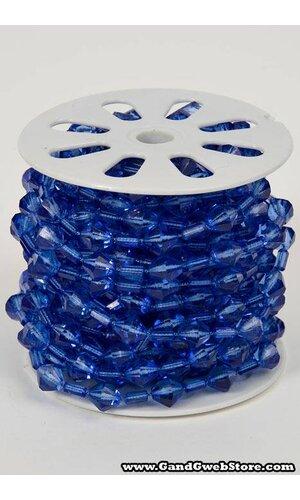 10YDS BEADED GARLAND ROLL ROYAL BLUE