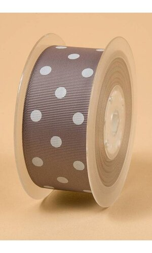 "1-1/2"" X 17YDS GROSGRAIN RIBBON METAL GREY #017"