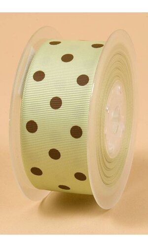 "1-1/2"" X 17YDS GROSGRAIN LIME JUICE #524"