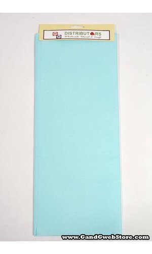 "20"" X 30"" TISSUE PAPER LIGHT BLUE"