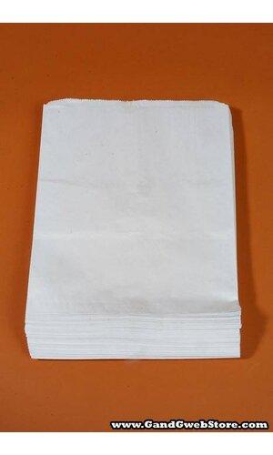 """12"""" X 15"""" MERCHANDISING BAG WHITE PKG/100"""