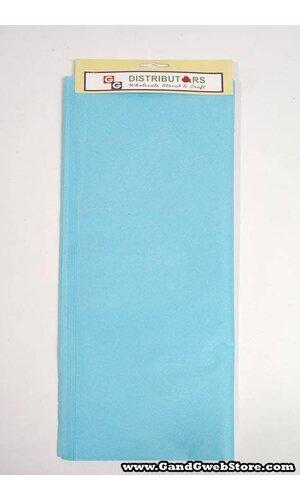 "20"" X 30"" TISSUE PAPER SKY BLUE"