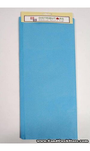 "20"" X 30"" TISSUE PAPER PACIFIC BLUE PKG/24"