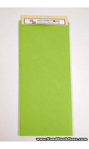 "20"" X 30"" TISSUE PAPER CITRUS GREEN"