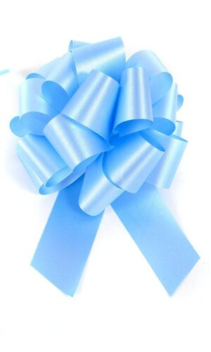 PERFECT BOW PULL RIBBON PKG/10 BLUE