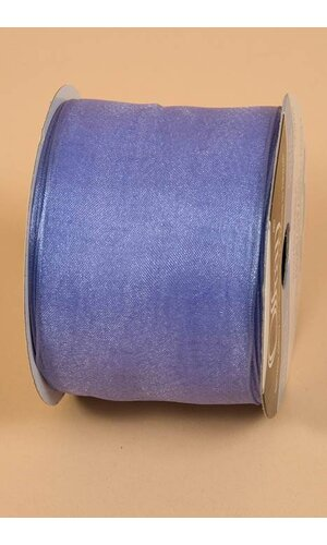 """2.5"""" X 25YDS WIRED ENCORE RIBBON LILAC"""