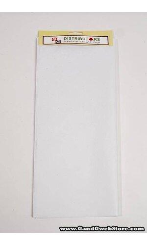 """20"""" X 30"""" TISSUE PAPER WHITE"""