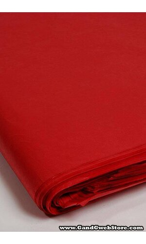 """24"""" X 36"""" WAXED TISSUE SHEETS RED PKG/400"""