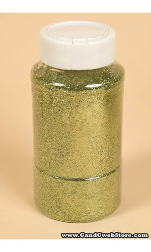"16OZ X 0.015"" GLITTER KELLY GREEN"