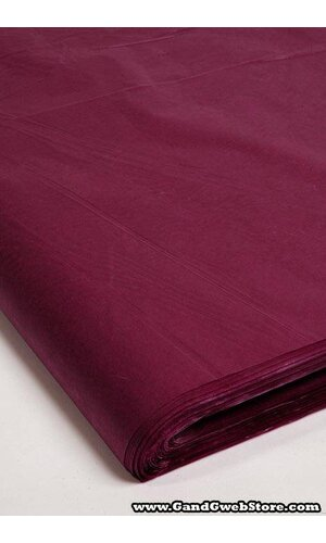 "24"" X 36"" WAXED TISSUE SHEETS PLUM PKG/400"