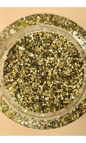 "16OZ X 0.035"" GLITTER PALE GOLD"