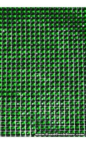 "DIAMOND STICKER 10.75"" X 9.75"" GREEN"