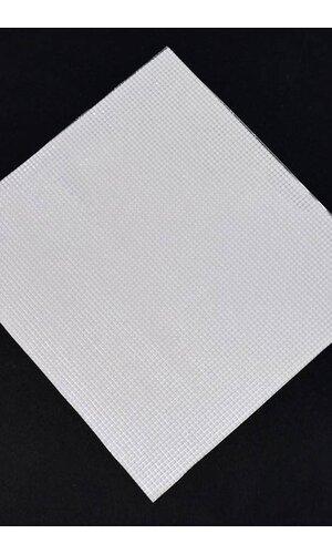 """DIAMOND STICKER 10.75"""" X 9.75"""" WHITE"""